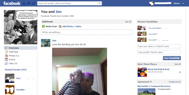 Facebook Couples Page