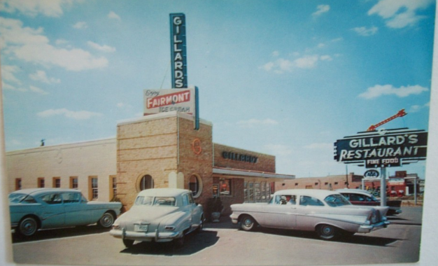 Gillard's Famous Restaurant - Branding Iron - Wichita Falls