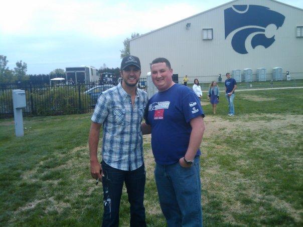 Luke Bryan at K-State