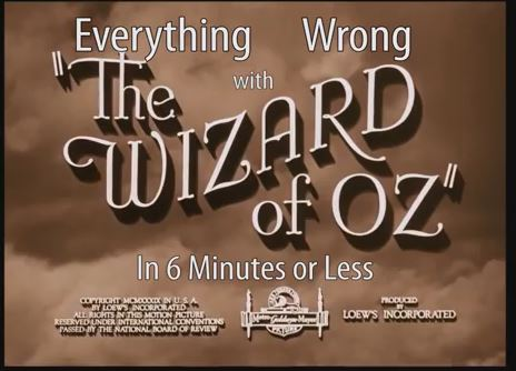 Everything Wrong With The Wizard Of Oz