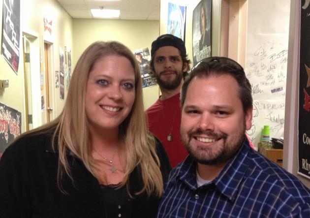 Bethany Lee, Thomas Rhett, and Aaron Galloway