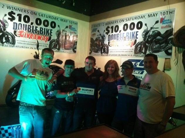 Double-Bike Giveaway Winners